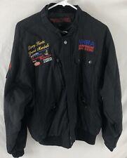 Vtg NHRA Heartland Nationals 1989 Jacket Drag Racing Grand Marshall AC-Delco L
