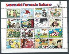 1997 SAN MARINO FOGLIETTO STORIA DEL FUMETTO ITALIANO MNH ** - ED