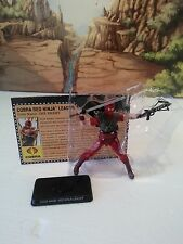 Snake Eyes vs Red Ninja Troopers:2008 COBRA RED NINJA LEADER(v1):100%/MOC!!