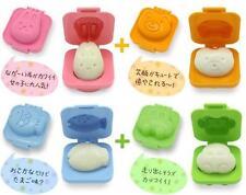 4 PCS Bear Rabbit Fish Car Boiled Egg Sushi Rice Roll Mold Mould Kitchen Tool