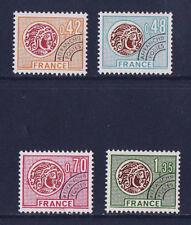 timbre France préoblitéré  monnaies   n° 134/37  **