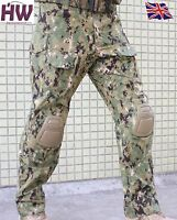 AIRSOFT EMERSON TACTICAL PANTS TROUSERS GEN 3 AOR2 KNEE PADS 28-30 CRYE STYLE