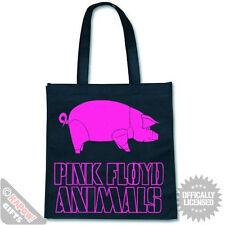 PINK FLOYD BAG FOR LIFE - Tote Shopper Purple Pig Band Shopping Bag