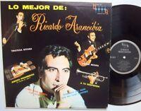 RICARDO ARANCIBIA Lo Mejor De LP AUTOGRAPHED