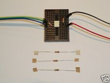 Opto Isolator Project Kit for Raspberry Pi. Connect 12/9/5 or 3 v to GPIO pins