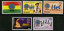Ghana  1971  Scott # 421-425  Mint Lightly Hinged  Set
