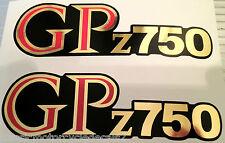 KAWASAKI GPZ750 GPZ750R1 SIDE PANEL DECALS