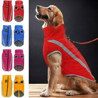 Pet Dog Winter Waterproof Clothes Coat Warm Padded Fleece Vest Jacket Outdoors
