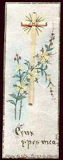 image pieuse peinte santini holy card paint. Olivier de Geth. Fleurs de Nazareth