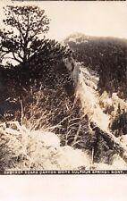 WHITE SULPHUR SPRINGS MONTANA CHECKER BOARD CANYON~CHAMBERLIN REAL PHOTO POSTCAD