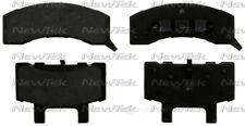 Disc Brake Pad Set-Rear Drum Front NewTek SCD370