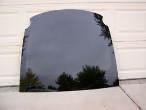 Tesla Model X Glass Rear Back Hatch Deck Lid Glass Heated Tinted OEM