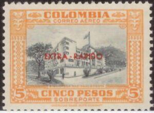 Colombia,Scott#C290,5p,MH,Scott=$12