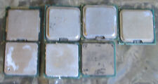 7 MIXED LOT PENTIUM DESKTOP PROCESSORS CPU'S PULLED WORKING FOR USE/GOLD RECOVER