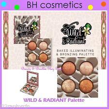 NEW BH Cosmetics WILD & RADIANT-Baked Illuminator/Bronzer Palette FREE SHIPPING