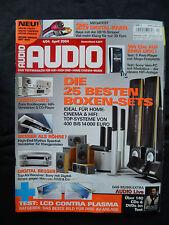 AUDIO 4/04 DENON PMA 495R,MARANTZ PM 4400,CANTON REFERENCE 6 DC,JAMO D4 ADD,JVC