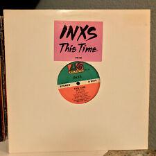 "INXS - This Time (Promo) - 12"" Vinyl Record Single - EX"