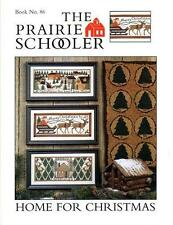 The Prairie Schooler HOME FOR CHRISTMAS Chart Book No. 86 HTF