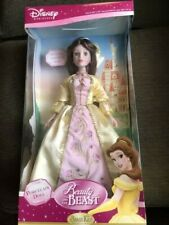 Disney Brass Key Princess Belle Porcelain Doll 18 inches Special Edition Size