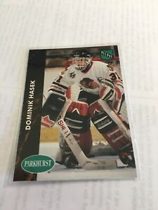 1991 - 92 Parkhurst Dominik Hasek Rookie RC #263  French MT OR BETTER CENTERED!!