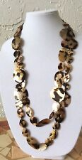 Viktoria Hayman Double Strand Shell Necklace - Beautiful!