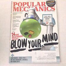 Popular Mechanics Magazine The New Robotic Hand November 2015 051817nonrh2
