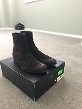 RARE! GUESS Black Label Western Boot Brown Suede (Size 9)