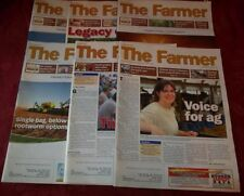 Lot of 6 THE FARMER magazines Sept 2011-Nov 2013