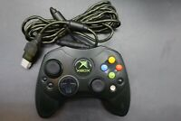 Original Microsoft OEM Xbox Controller S-Type Wired Official (GREEN CABLE)