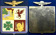 Placca Badge Stemma Aviazione Militare Italiana  con smalti #KG9