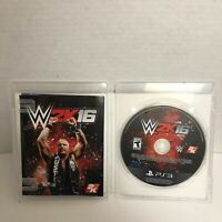 WWE 2K16 Sony PlayStation 3 PS3 Complete CIB MINT DISC Very Fast Ship World!