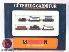 N 1:160 escala modelismo locomotora trenes vagones Arnold 0154 Set 1986 <