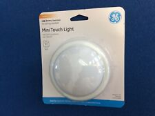 Night light:  Mini Touch light, push on/off, add a light to any room, round 4""