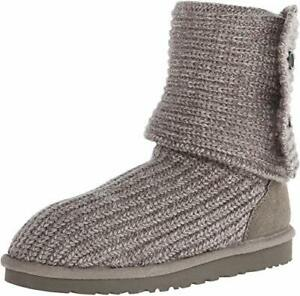 UGG KIDS GIRLS' CARDY BOOTS,5649 K/GREY, TODDLER US SIZE 9,EUR 26,MEDIUM,NEW
