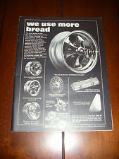 1968 KEYSTONE CUSTOM MAG WHEELS ***ORIGINAL VINTAGE AD***
