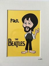 The Beatles - Paul McCartney - Late 1960's - Hand Drawn & Hand Painted Cel