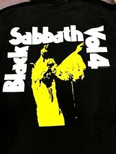 Black Sabbath Shirt Vtg Tour Ozzy Metallica Maiden Slayer Megadeth Motorhead