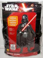 Star Wars Darth Vader Deluxe Child Boys Kids Costume 3D Halloween - MEDIUM 8-10