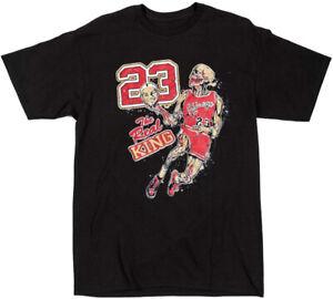 Vintage Chicago Bulls The Real King Michael Jordan Shirt, Unisex T-Shirt TK1973