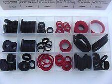 142 Pc Automotive Marine Fiber Rubber EVA Foam Sealing Washers Assortment Kit