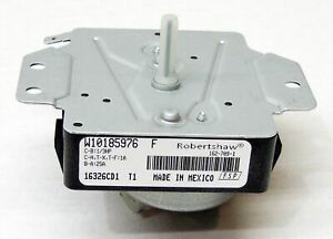Whirlpool Dryer Timer Control WPW10185976 AP6016539 PS11749829 W10185976