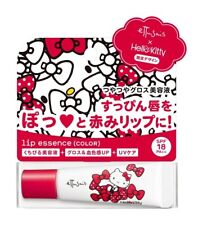 [ETTUSAIS SANRIO] HELLO KITTY Lip Essence Hydrating Tinted Red Lip Balm Tube NEW