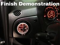 Air Vent Gauge Pod,60mm or 52mm, Fit Fiat 500 Abarth【TG-tech Auto】