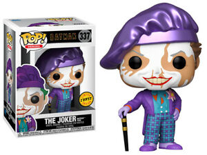 Funko Pop CHASE Batman: Joker (Face Paint) Jack Nicholson Figure w/ Protector