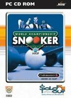 World Championship Snooker PC CD ROM GAMES