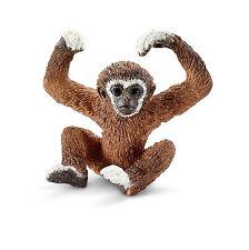 Q18) Schleich  (14718)  Gibbon Baby Affen Safari Savanne Afrika