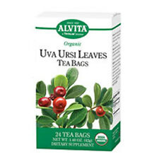 Organic Uva Ursi Leaves Tea 24 BAGS by Alvita Teas