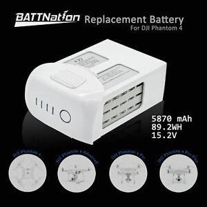 DJI Phantom 4 Pro Intelligent Flight High Capacity Replacement Battery 5870mAh