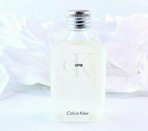 Calvin Klein CK ONE Vintage EDT (.5oz/15ml) Rare Travel Splash Mini *NEW*