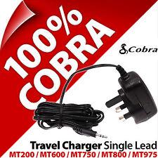 Cobra Mains/Travel Charger Single lead UK Plug for Microtalk MT975 MT800 600 200